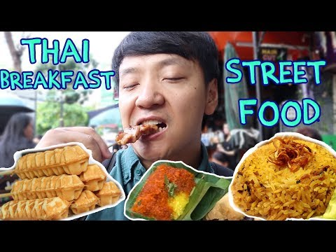Thai BREAKFAST Street Food Tour in Bangkok Silom Soi 20