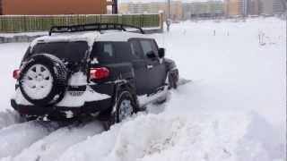 Toyota FJ Cruiser зима 12.12.2012