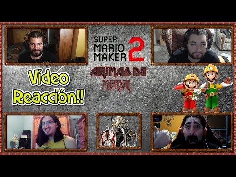 Vídeo reacción Super Mario Maker 2! Akumas de Metal