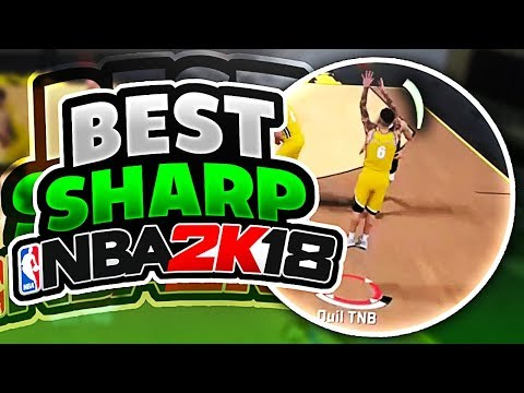 THE BEST SHARPSHOOTER IN NBA 2K18 - MUST WATCH