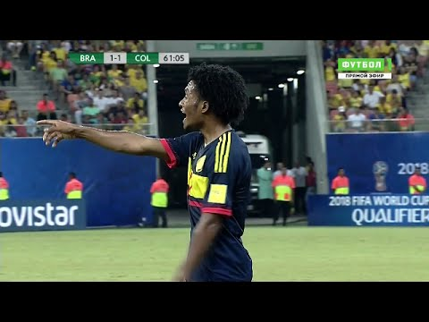 Juan Cuadrado vs Brazil (Away) HD (7/09/16) by Juan Cuadrado¡16x™