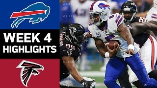 Bills vs. Falcons | NFL Week 4 Game Highlights