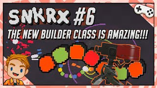 THE NEW BUILDER CLASS IS AMAZING!!! | Let's Play SNKRX | Part 6
