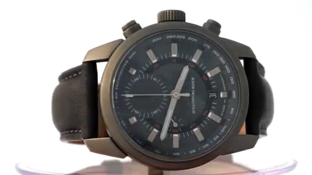 Schaumburg Watch Aqm Bullfrog Chrono