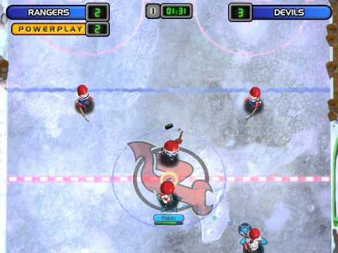 Backyard Hockey Gameplay