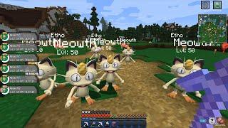 Minecraft - Pixelmon: Let's Go! #12: Kitty Cat Crew