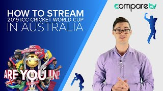 How to Stream the 2019 ICC Cricket World Cup Live and Free on Australian TV