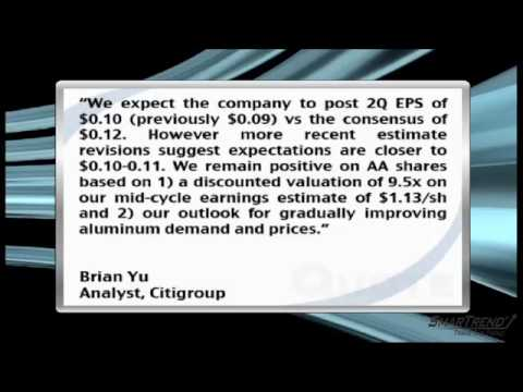Analyst Insight: Citigroup Expects Alcoa To Miss Consensus E