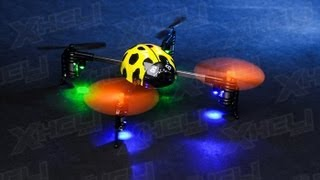 The V939 Mini Quadcopter Ladybird