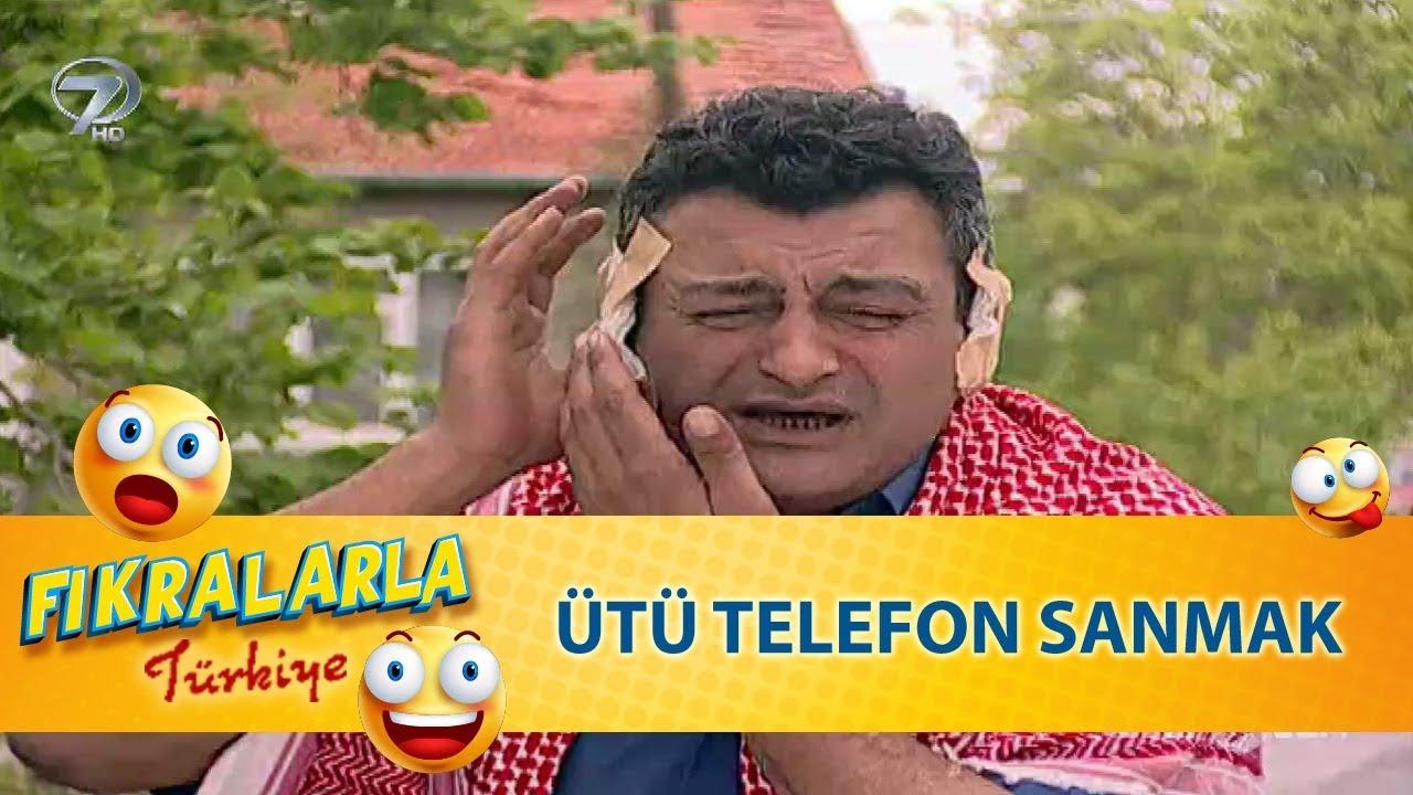 Ütüyü Telefon Sanmak - Türk Fıkraları 117