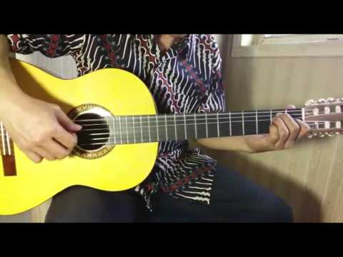 Panbers - Terlambat Sudah (Fingerstyle Cover by Ilham Andika)