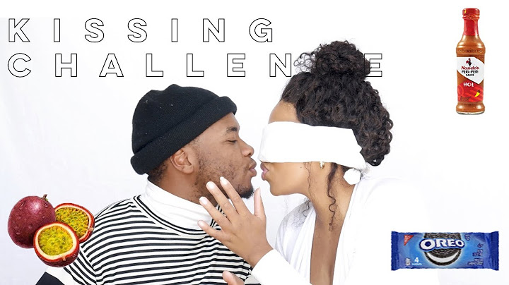 whats on my mouth  kissing challenge