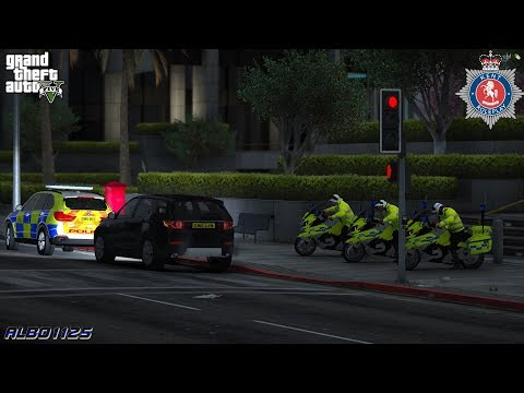 GTA5 Roleplay (Police) - Justice Secretary Escort Special - Kent RPC