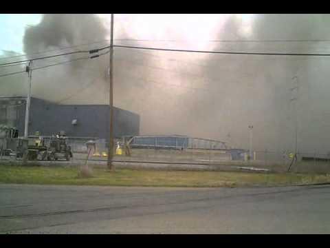 Explosion & Fire At Massena New York ALCOA Plant