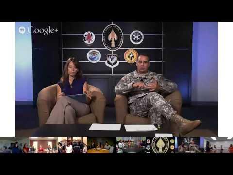 OCT 2013 USSOCOM Virtual Town Hall