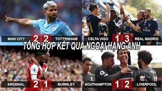 Tin bóng đá 18/08|KQ NHA Man City mất điểm, Liverpool chiếm ngôi đầu, Real đại thắng ngày ra quân!