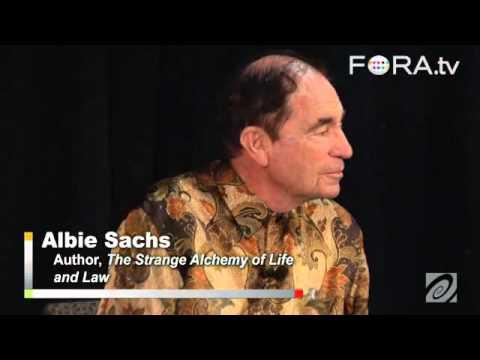 Jailed in a Concrete Tube: Albie Sachs Recalls Apartheid