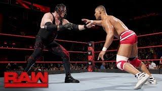 Jason Jordan vs. Kane: Raw, Nov. 27, 2017