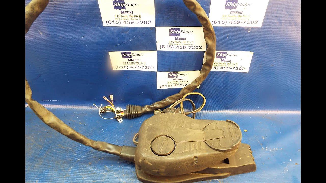 FOR SALE - Minn Kota Foot Control Pedal, All Terrain Turbo $74.95 P ...