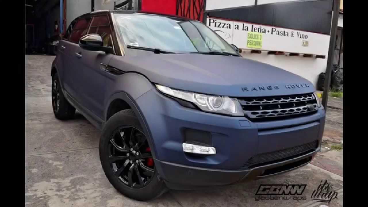 Forrada Con Vinil Range Rover Evoque Wrapped Arlon Mariana