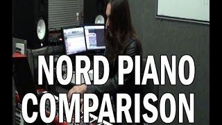 Nord Piano Comparison - Italian, Imperial, Bright, Lady D, Studio, Concert