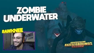 CAN ZOMBIES GO UNDERWATER? | PUBG MOBILE HIGHLIGHTS | RAWKNEE