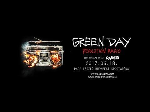 Green Day - Revolution Radio Tour [Élőben a Budapest, Papp László Sportarénából - 2017 június 18]