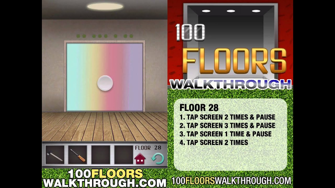 Floor 28 Walkthrough 100 Floors Walkthrough Floor 28