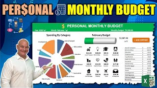 Learn How To Create Your Own Monthly Budget Application In Excel From Scratch Today [1 Hour Course]