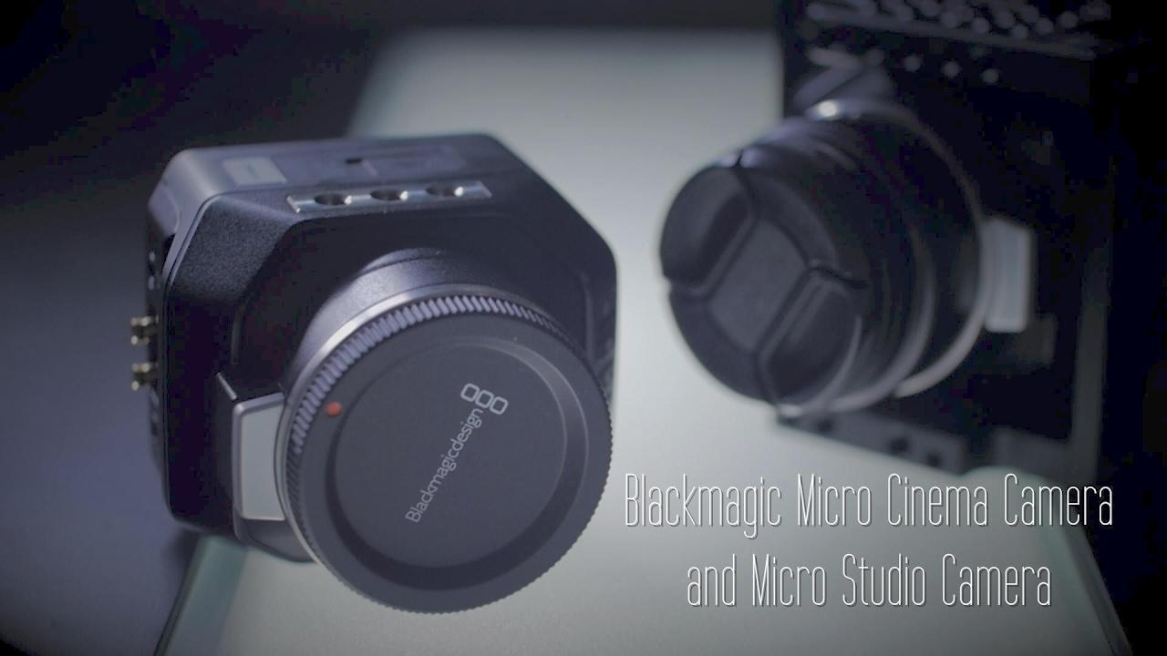 Blackmagic Micro Cinema Camera And Micro Studio Camera Review By Hot Rod Cameras Youtube