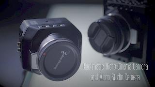 Blackmagic Micro Cinema Camera and Micro Studio Camera Review by Hot Rod Cameras