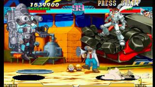 Marvel vs Capcom: Clash of Super Heroes (PSX) - War Machine Longplay