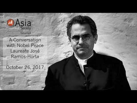 A Conversation with Nobel Peace Laureate José Ramos Horta