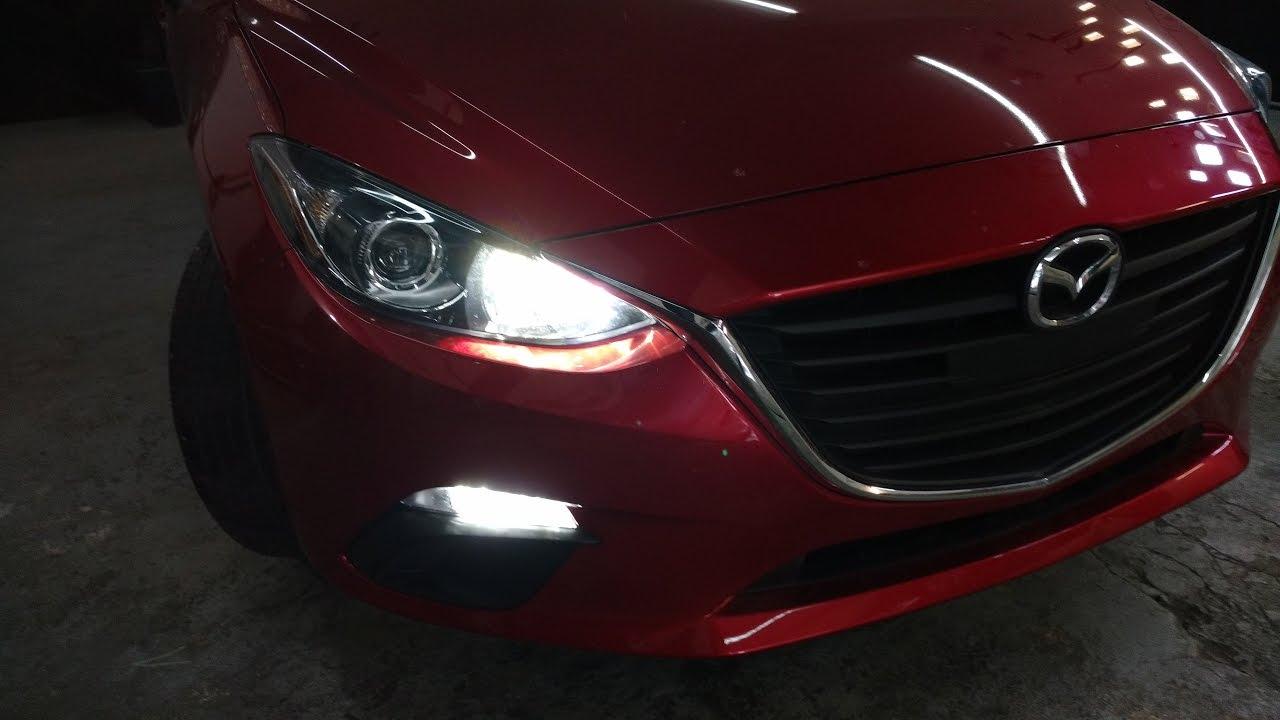 Iluminaci U00f3n Led Premium   Mazda 3 2014 - 2017   Drl    Altas   Switchback Direccionales