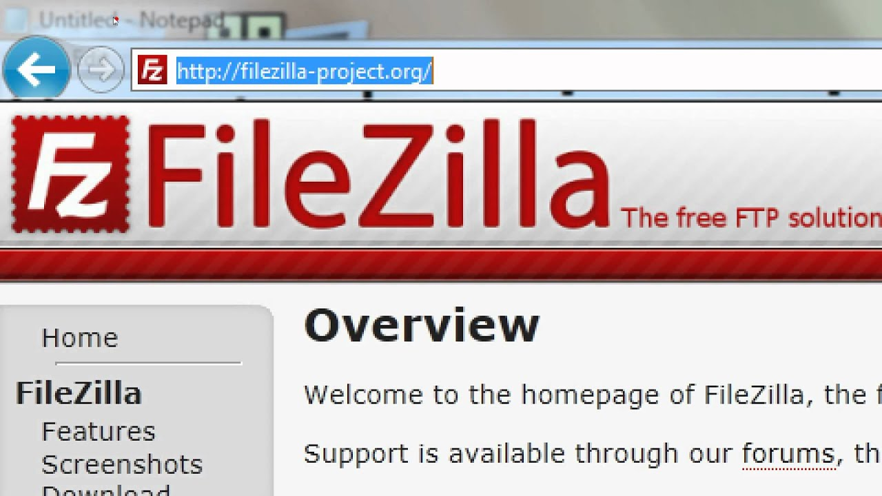 how to get url from filwzilla