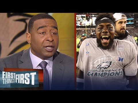 Nick and Cris on the Eagles' 38-7 win over the Vikings in the NFC Championship | FIRST THINGS FIRST