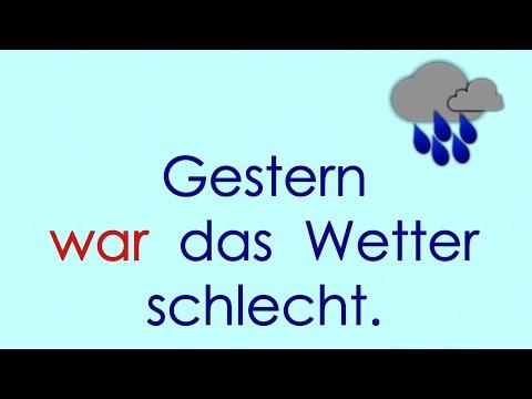 Deutsch lernen Grammatik 12: ich war, ich hatte ...