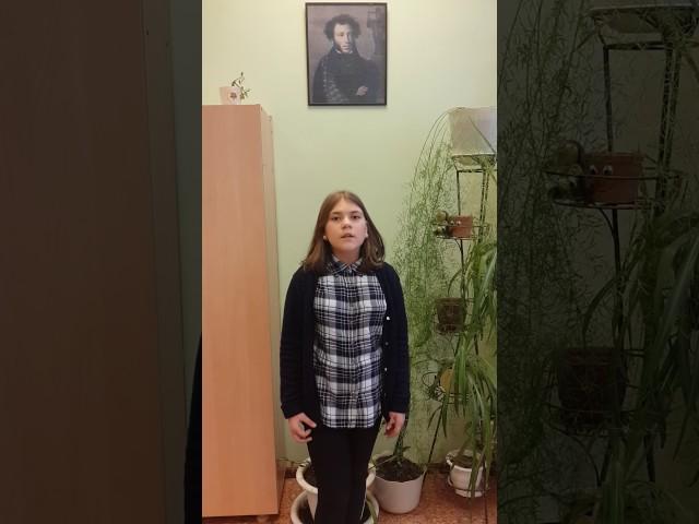 Изображение предпросмотра прочтения – АлександраКутеева читает произведение «Ворона и Лисица» И.А.Крылова