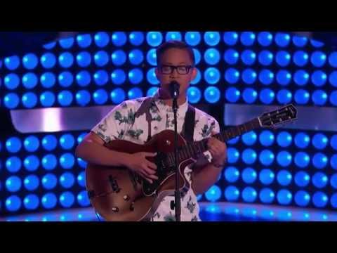 The Voice USA 2015 - Nathan Hermida - Blind Audition -
