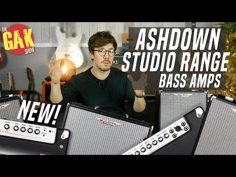 Super Lightweight Bass Amps From Ashdown! | The Studio Range