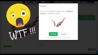 ROBLOX - How to get wings of Liberty free !!! [PATCHED]