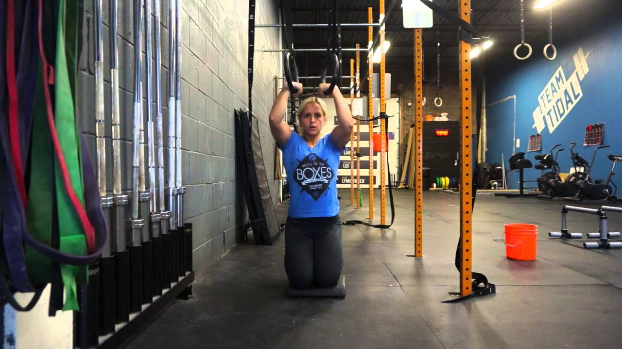 Muscle Up Rings Progression