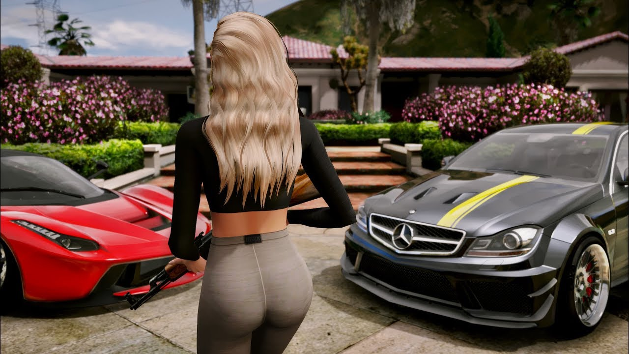AMAZING GTA 6 Graphics Mod in GTA 5!