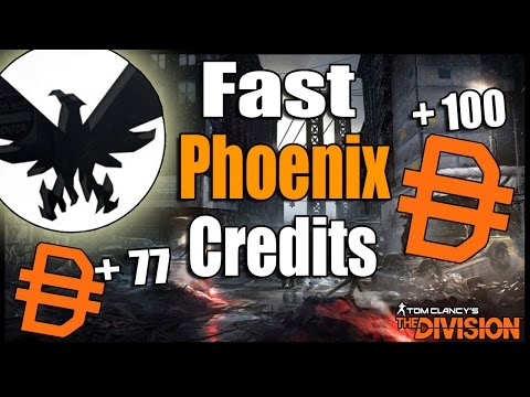 The Division: Fastest Way to Get Phoenix Credits to Buy Powerful Gear, and Weapons!