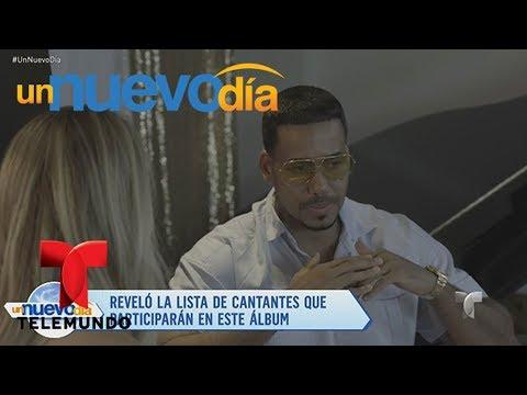 ¡Romeo Santos nos presenta su nueva producción musical! | Un Nuevo Día | Telemundo