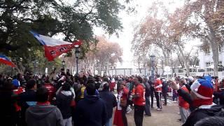 Chilenos le responden a los argentinos en Mendoza