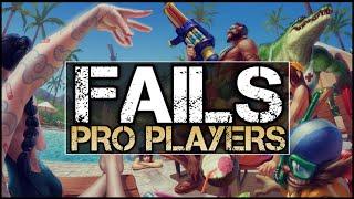 fails montage lol pro players
