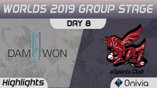 DWG vs AHQ Highlights Worlds 2019 Main Event Group Stage Damwon Gaming vs AHQ eSports Club by Onivia