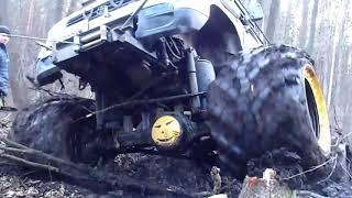 Нива 3d джип-БОМБА УАЗ лучший OFF ROAD 4×4 Пуща март 2015