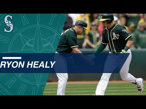 Check out Ryon Healy's 25 home runs from 2017